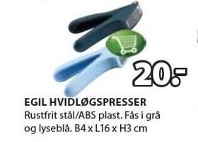 Egil hvidløgspresser