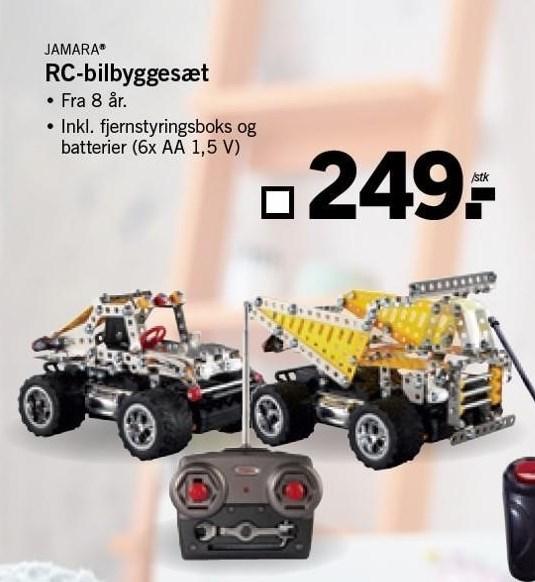 RC-bilbyggesæt
