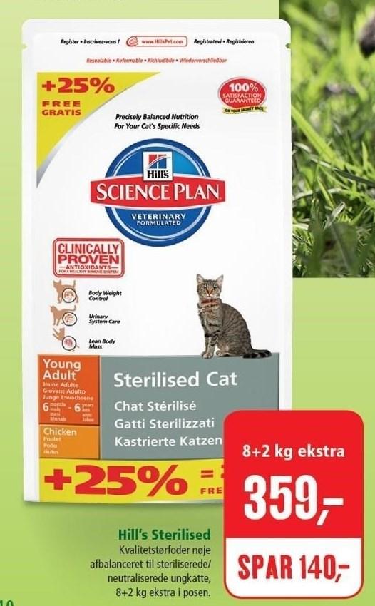 Hill's Sterilised kattefoder