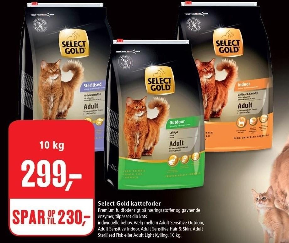 Select Gold kattefoder 10 kg