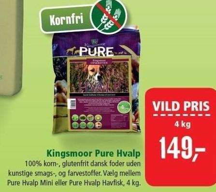 Kingsmoor Pure Hvalp 4 kg.