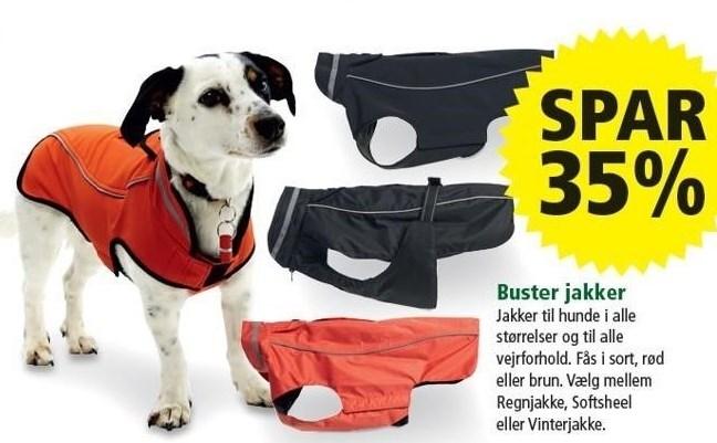 Spar 35% på Buster jakker