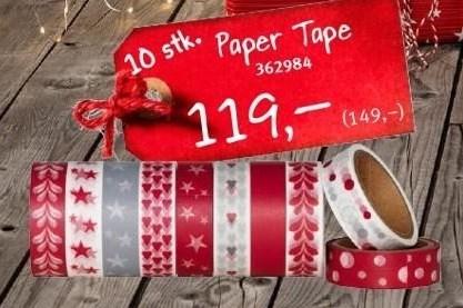 Paper Tape 10 stk.